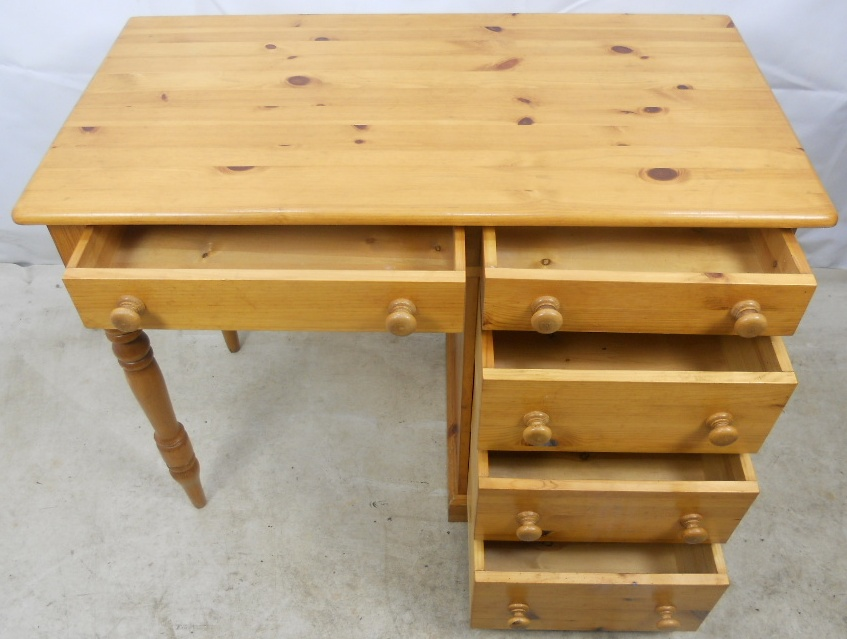 Small Pine Desk with Storage Drawers : small pine desk with storage drawers 4 2321 p from www.harrisonantiquefurniture.co.uk size 847 x 639 jpeg 190kB